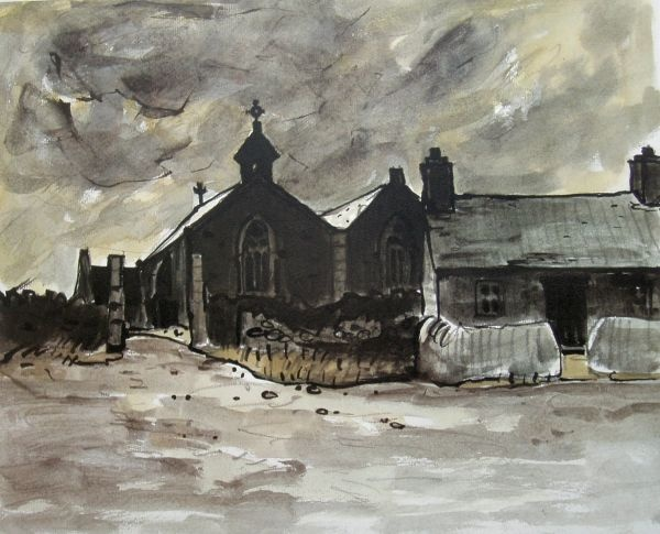 Aberffraw by Sir Kyffin Williams