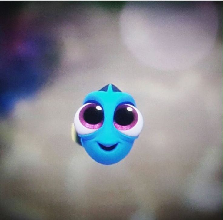 Dory as a child, I can't even explain how much I love this.  She is the most adorable character ever created.