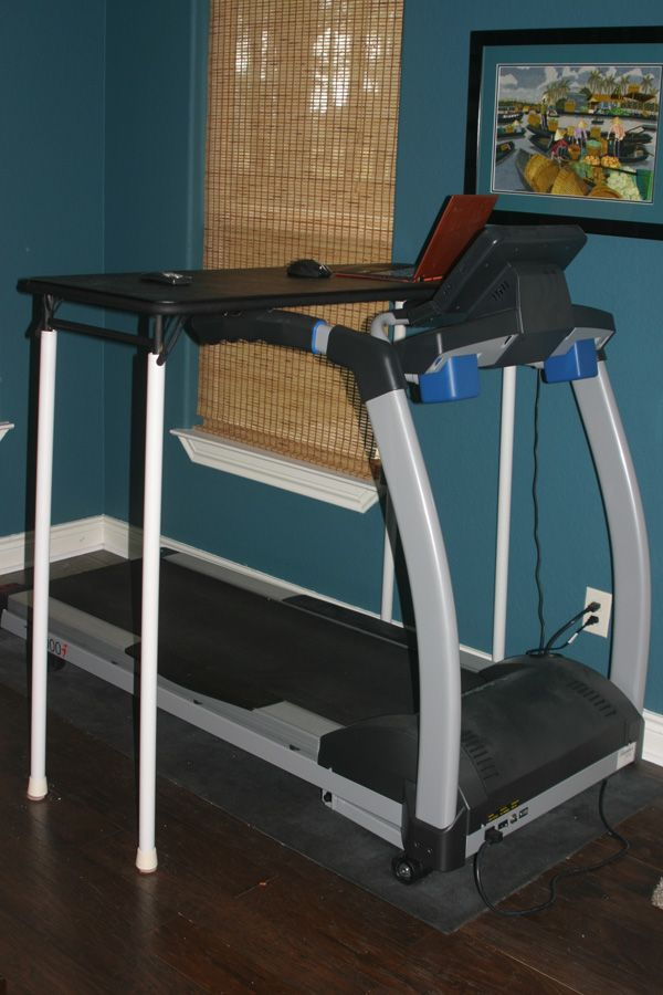 """I wanted to post about the do it yourself treadmill desk we made for our treadmill. Here are some photos of the completed treadmill desk:  We have a """"regular"""" treadmill, not a treadmill dedicated to be used with a desk. We have a LifeSpan TR5000i Non-Folding Treadmill (affiliate link*). Since I work from home …"""