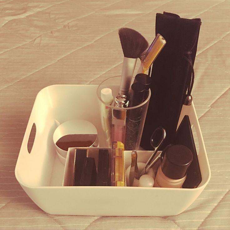 歯ブラシスタンド/無印良品/メイク道具収納/100均/セリア/My Shelf…などのインテリア実例 - 2017-09-23 00:45:40 | RoomClip(ルームクリップ)