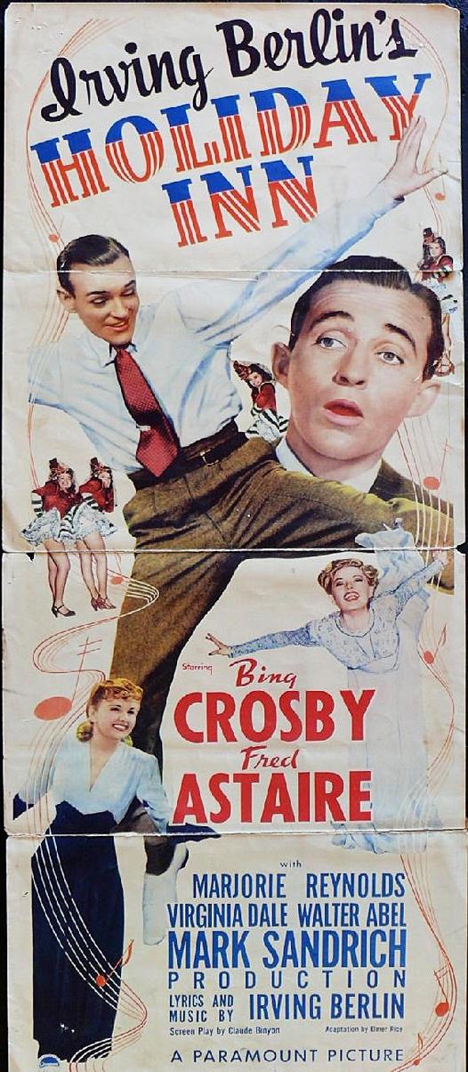 Holiday Inn (1942) Irving Berlin starring Bing Crosby