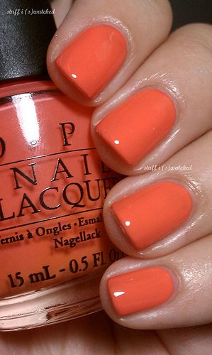 OPI Hot and Spicy 2010 Hong Kong Collection