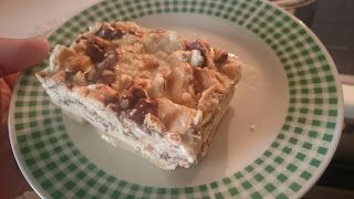 LaxanoKitsos: Πανεύκολη Τούρτα παγωτό με μπισκότα