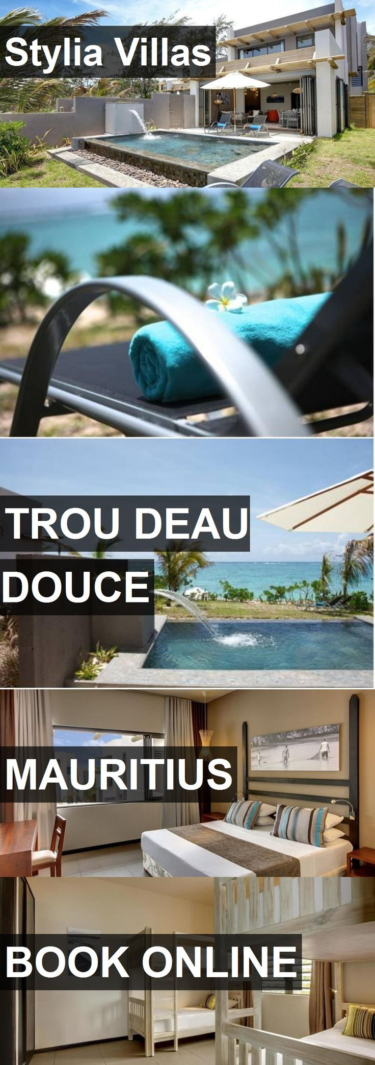 Hotel Stylia Villas in Trou Deau Douce, Mauritius. For more information, photos, reviews and best prices please follow the link. #Mauritius #TrouDeauDouce #travel #vacation #hotel