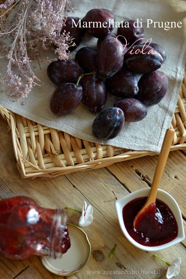 Marmellata di Prugne viola e Cannella.....gnammy !!!! http://www.zagaraecedro.ifood.it/…/marmellata-di-prugne-vio…