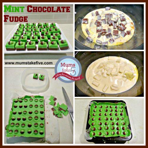Mint Chocolate Fudge Slow Cooker Recipe