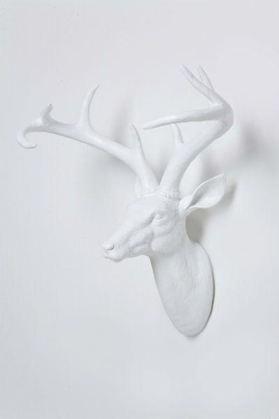 Διακοσμητικό Head Deer White