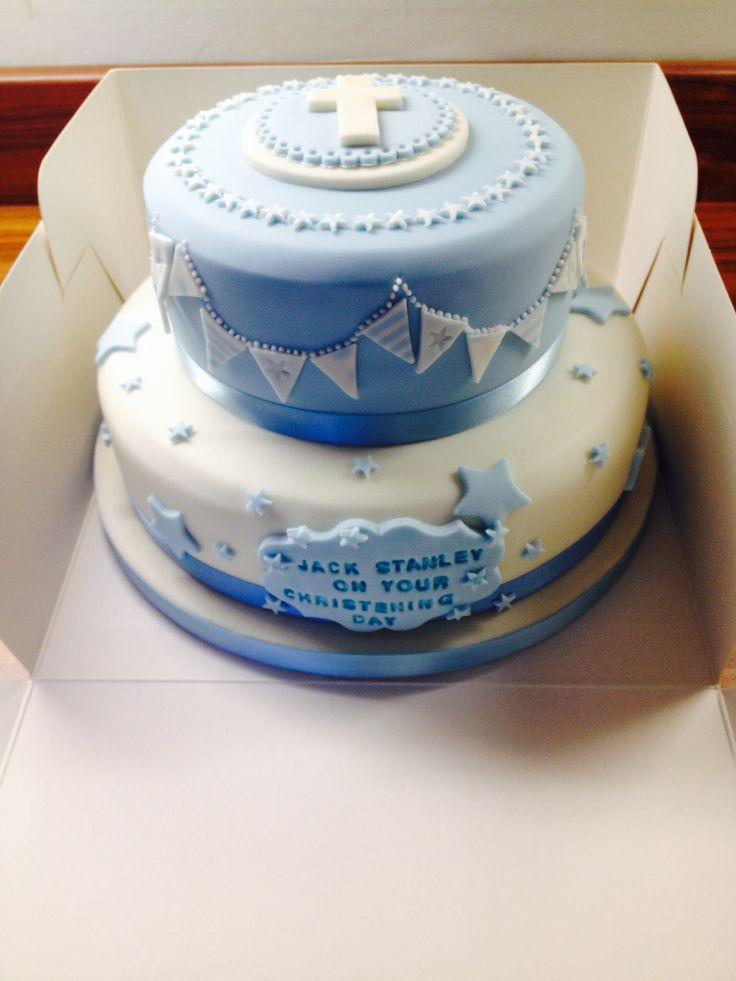 cake bautizo niño