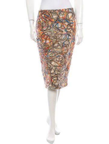 David Meister Wool Skirt w/ Tags