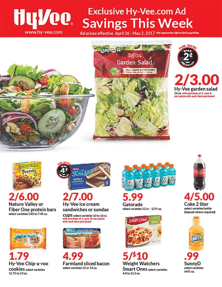 Hy-Vee Weekly Digital Ad April 26 - May 2 United States #grocery #ad #HyVee