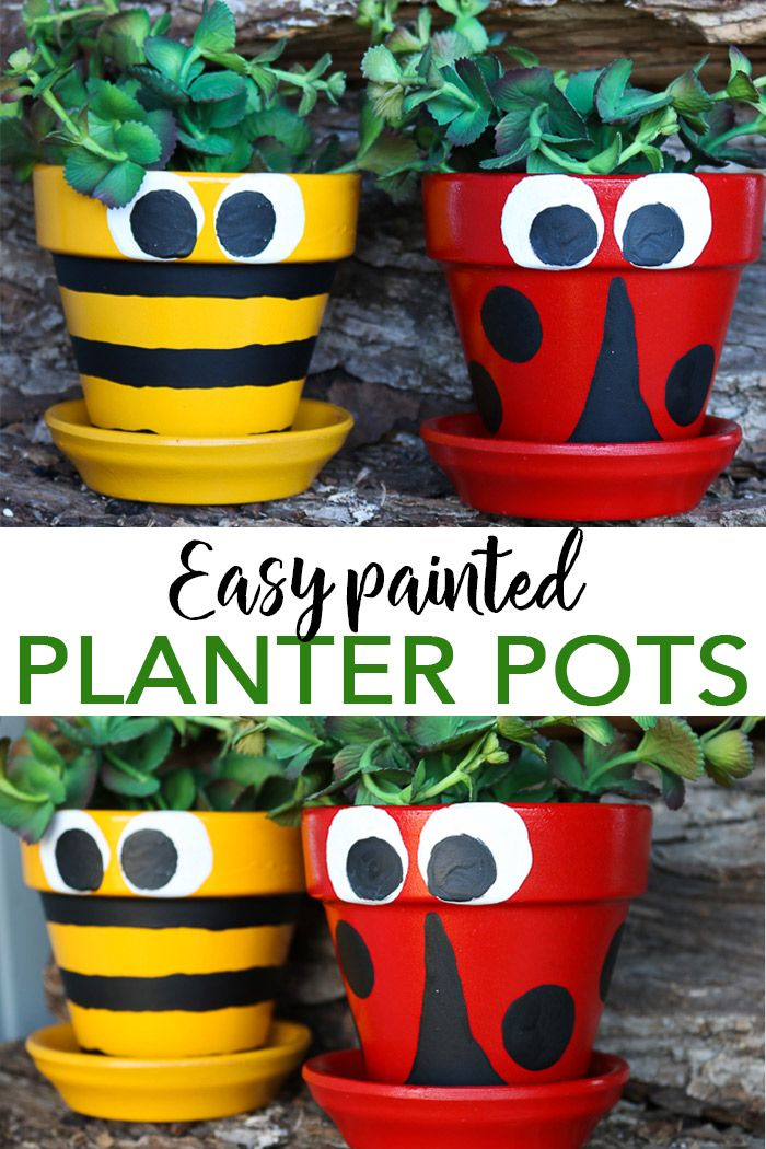 Pot Decoration Ideas For A Testors Crafternoon My Projects From