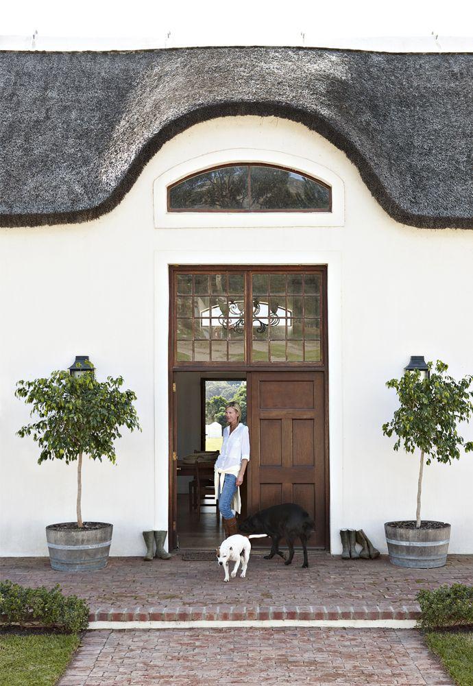 Cape Dutch-Style Farmhouse