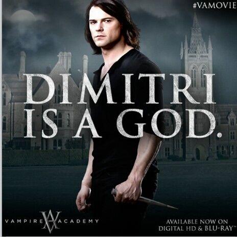 Dimitri Belikov  yes he is