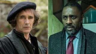 Mark Rylance and Idris Elba bafta awards