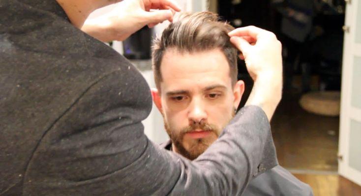 Pompadour - How to Style the Pompadour - pompadour hair style tutorial (...