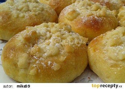 Majonézové koláčky bez kynutí recept - TopRecepty.cz