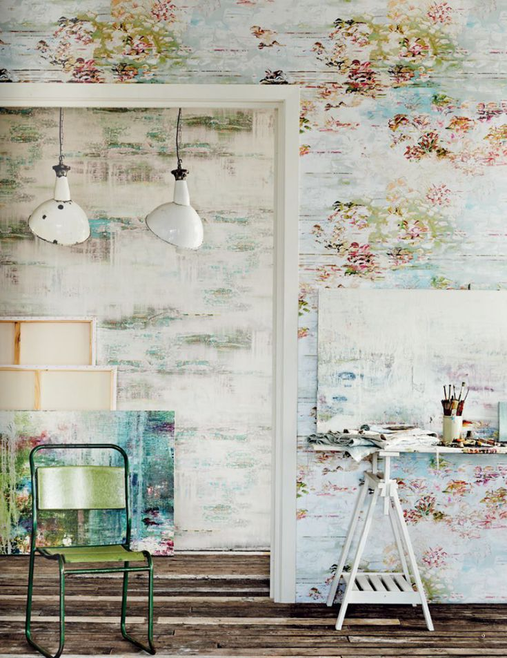 Contemporary, joyful elegant. Thoseare the best wordsto describe this gorgeous collaboration between English painter, Jessica Zoob, and textile designfirm