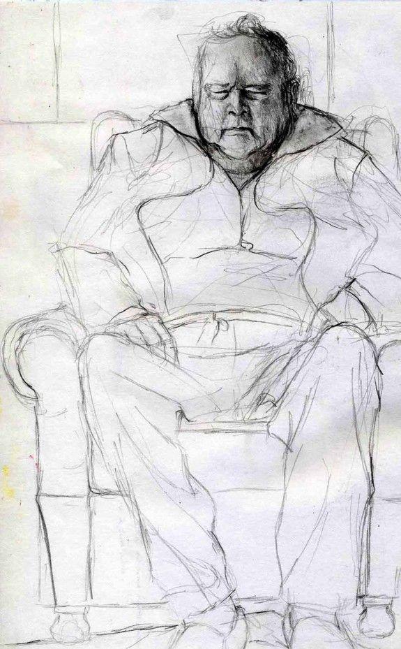 Dampie, pencil sketch. For more information please visit astridcastle.com