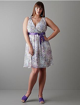 Chiffon A-line dress