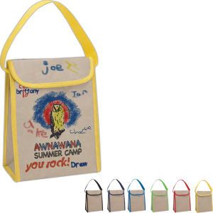 Kraft Coloring Lunch Tote from http://www.schoolspiritstore.com/school-supplies-and-fun-stuff/plant-a-tree-cards/
