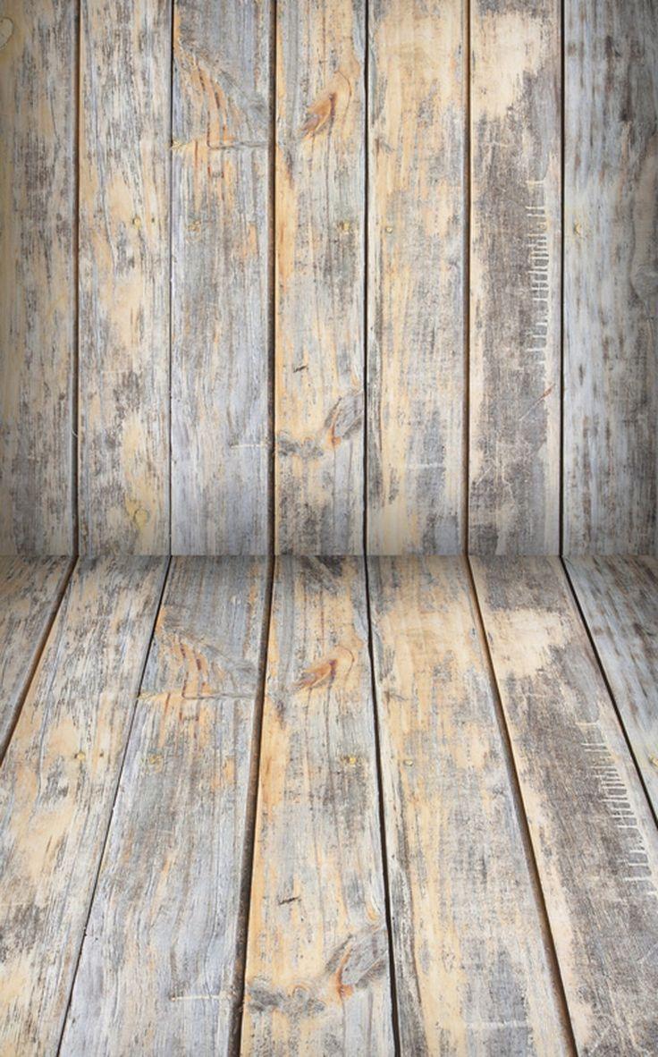 Photo backdropwood floor grey old vintage worn Worn wood floors
