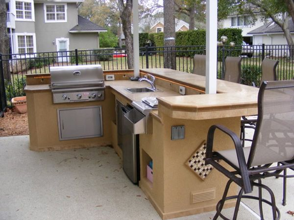 How To Design An Outdoor Kitchen 246 best outdoor kitchen images on pinterest | home, patio ideas