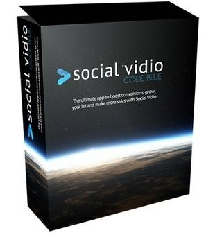 [GIVEAWAY] Social Vidio [CODE BLUE]    Social Vidio Code Blue Software  Buying Social Vidio without my Code Blue app....it's like getting into a car with no petrol.      They go hand in hand, and when you see what Code Blue does, you will know that Social Vidio is only half the equation. Adding Code Blue will transform what you can do with Social Vidio.     And let's get one thing clear. Nobody else is able to offer you this bonus, because I had it developed specially, just for Social Vidio…