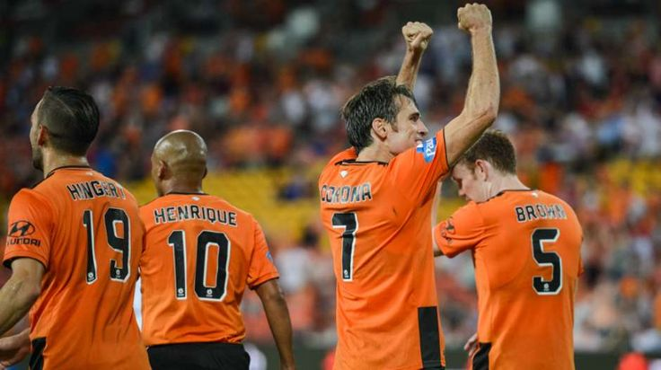 Celebrating at Suncorp Stadium | FFA