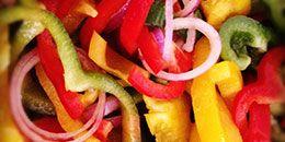 BBQ recept zonder vlees: groentespiezen