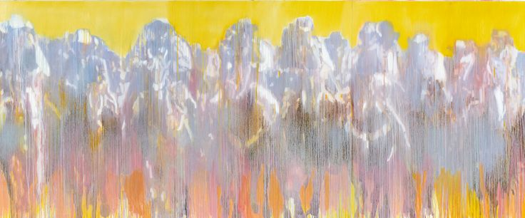 """Yellow Posse (full image of painting) 
