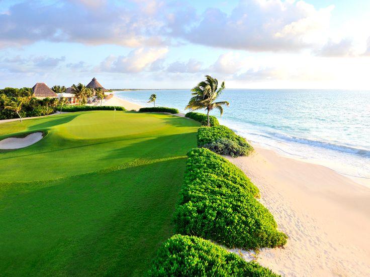 贅沢なゴルフ場