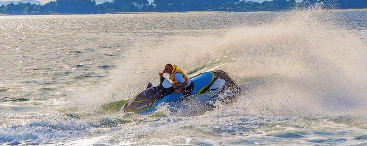 Los beneficios del deporte con motos de agua