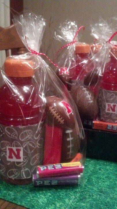 Football party favors. Now to find the football Pez