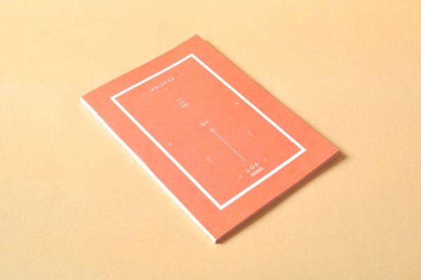 Desain Notes Book - Whisper of god