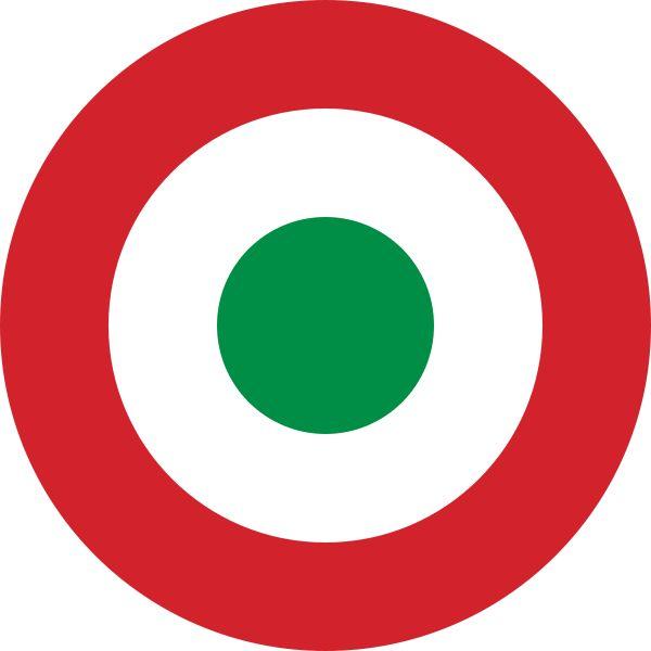 Roundel of the Italian Air Force - Escarapela aeronáutica - Wikipedia, la enciclopedia libre