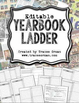 free online yearbook templates - yearbook ladder editable template 16 page signatures