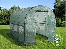 Polytunnel Greenhouse 2x3x2 m