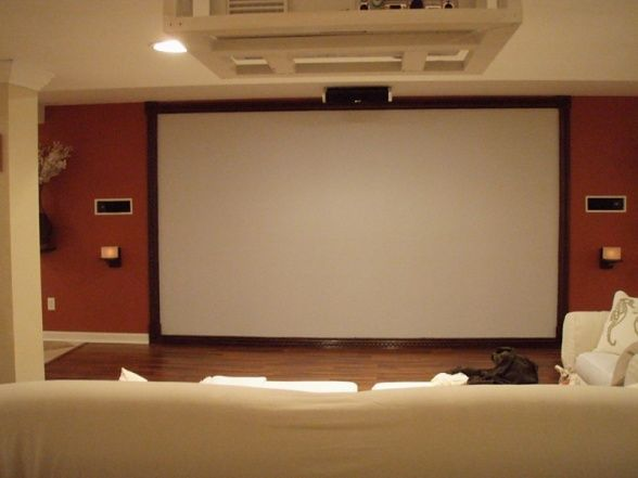 Best 25  Projector screen paint ideas on Pinterest | Projector ...