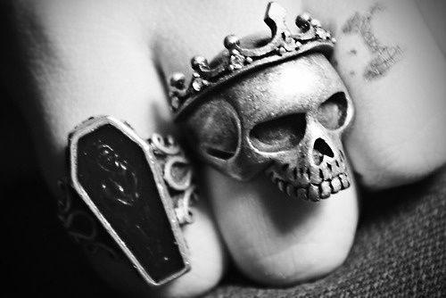 Rock'n'Roll is in the Soul: Skull Rings for Men | Skull Rings