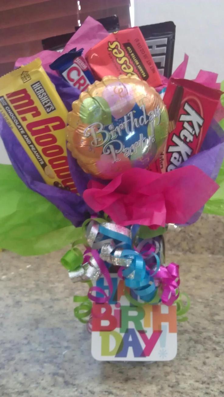 Diy candy bouquet bouquets pinterest