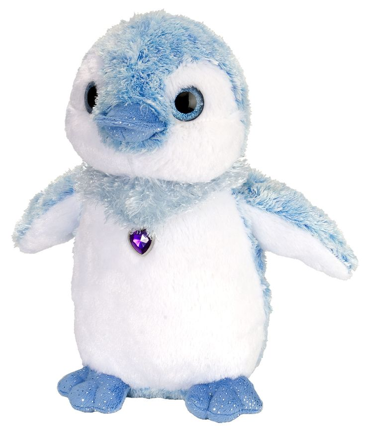 Blue Penguin Plush (Sweet & Sassy)