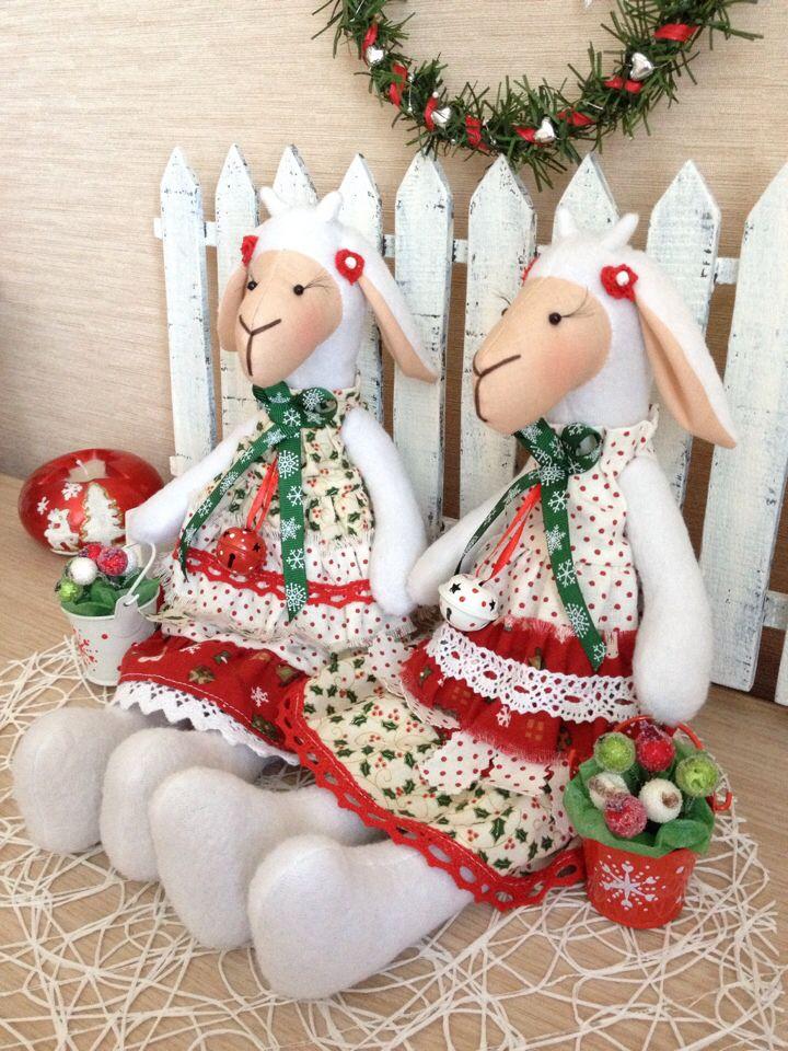 Рождественские козочки
