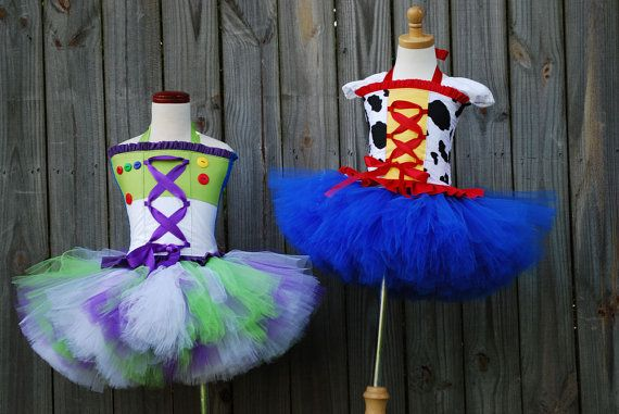 Custom Toy Buzz story inspired tutu dress corset by RainbowsLNG, $89.00