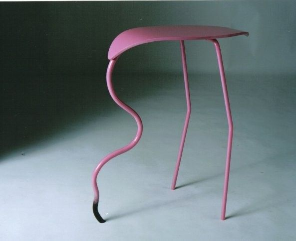 Flamingo Side Table Alice In Wonderland Themed Home