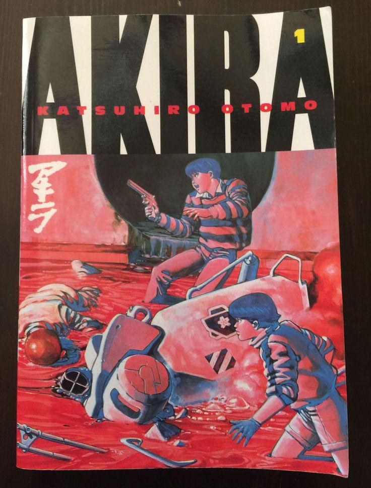 AKIRA #1 TPB GRAPHIC NOVEL KODANSHA OTOMO KATSUHIRO ARTBOOK ANIME MANGA ENGLISH
