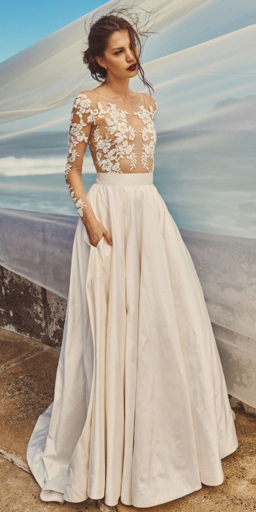 Best 25  Silk wedding dresses ideas on Pinterest | Boat neck dress ...