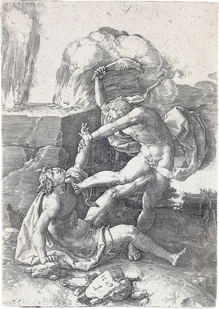 Cain Killing Abel (1529)