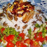 Mždara ze Sýrie - rýže s čočkou recept - Vareni.cz