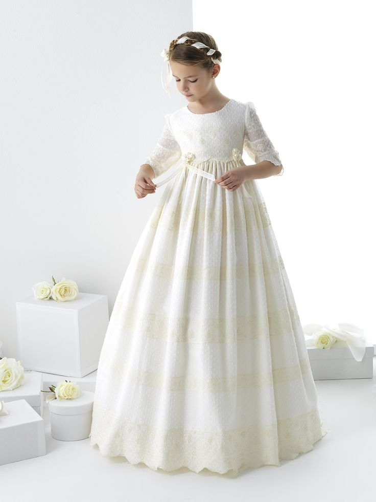 Fotos de vestidos de primera comunion para gorditas