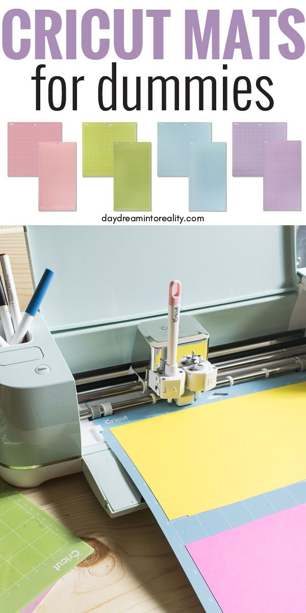 Learn Everything You Need To Know About The Cricut Mats What Are Their Differences What Materials To Use With Each Of Them And Cricut Mat Cricut Diy Cricut